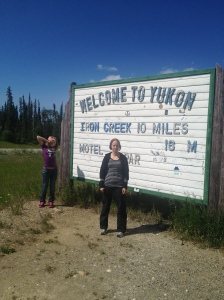 British Columbia and Yukon Territory border